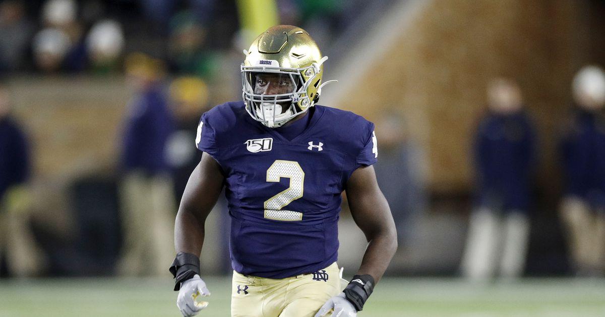 This Guy Plays Notre Dame Football: #2 Jordan Genmark ...