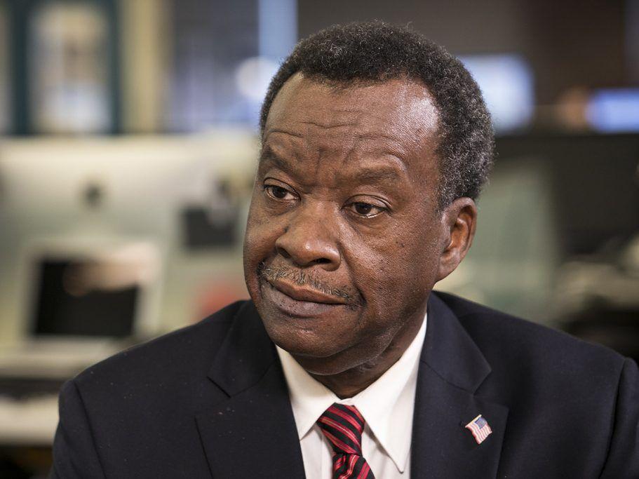 Chicago mayoral candidate Willie Wilson. | Ashlee Rezin / Sun-Times