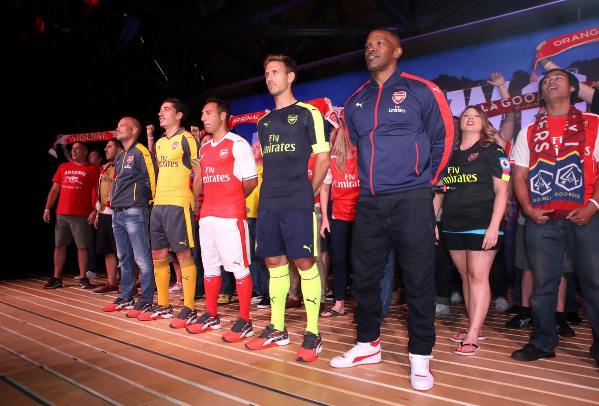 PUMA and Arsenal Football Club 2016/17 AFC Away & Third Kit Reveal Event