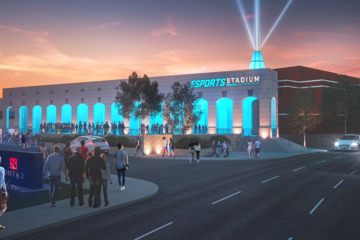 Esports S Rise And Hunger For Stadiums Points To