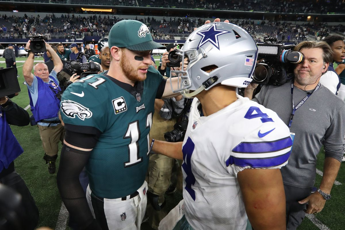 The Dallas Cowboys were the winner of the Giants-Eagles ...