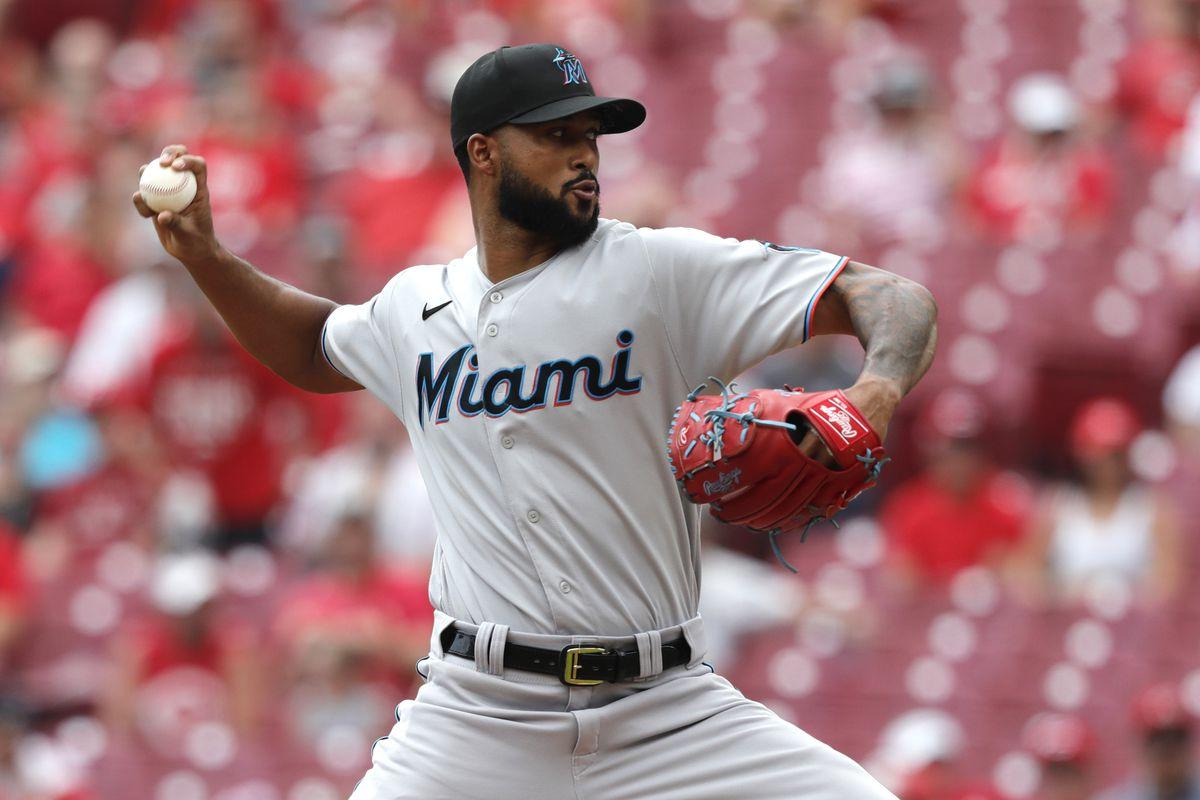 MLB: Miami Marlins at Cincinnati Reds