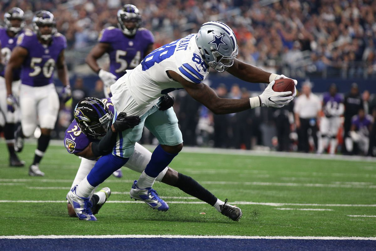 Cowboys Film Study Dak Prescott And Dez Bryant Score Double