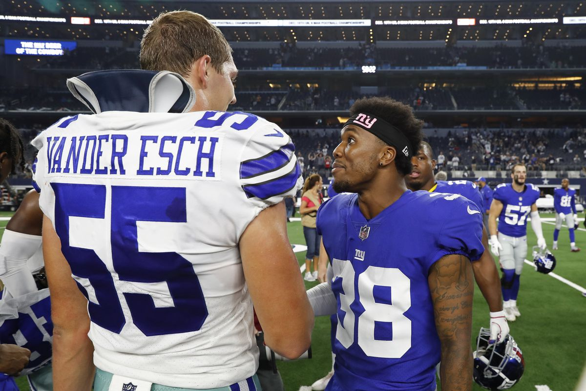 Ready or not, Cowboys rookie Leighton Vander Esch's time to shine is now