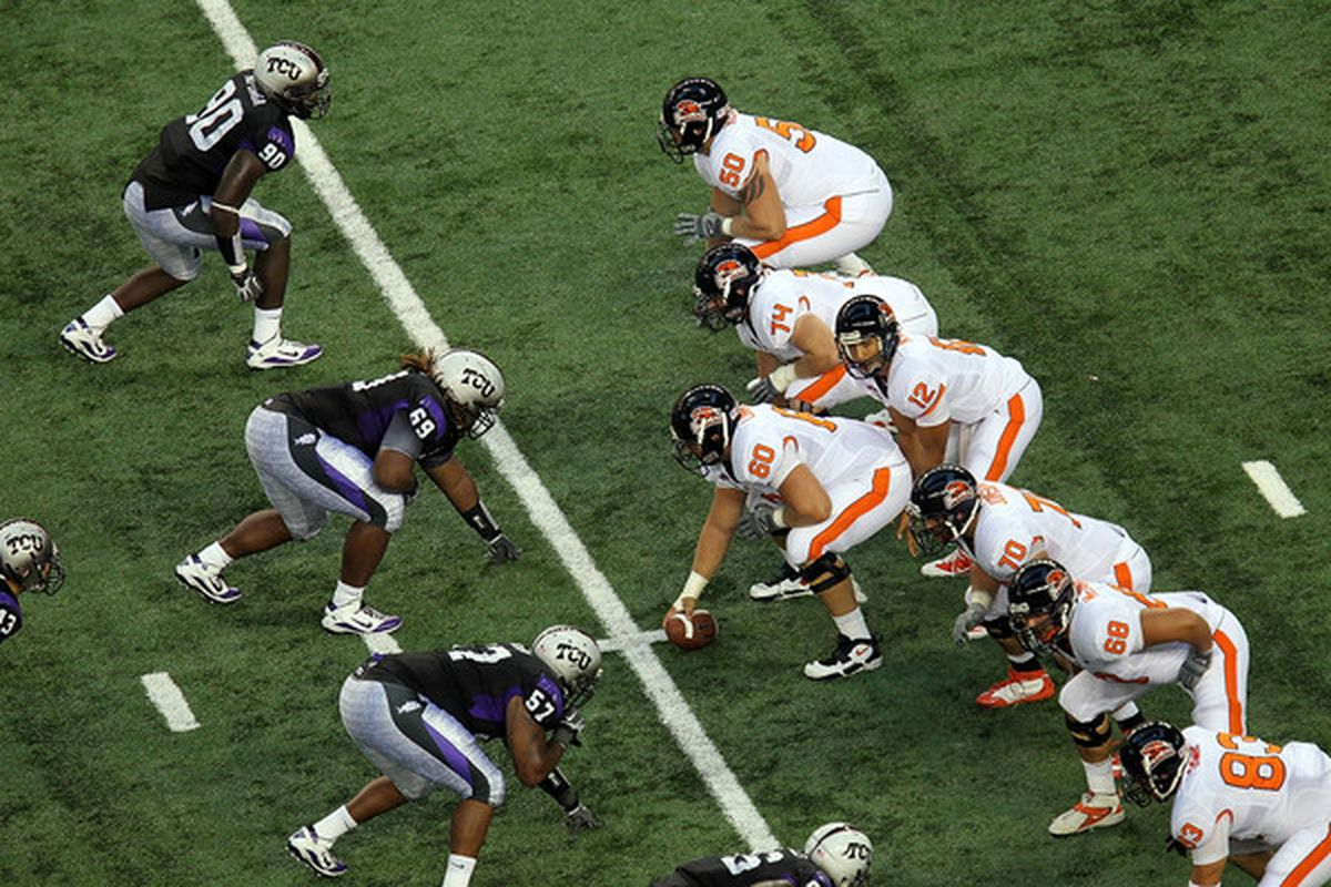 Running lanes in the TCU defense were hard to come by. But is that where the greatest improvement is needed on this team?