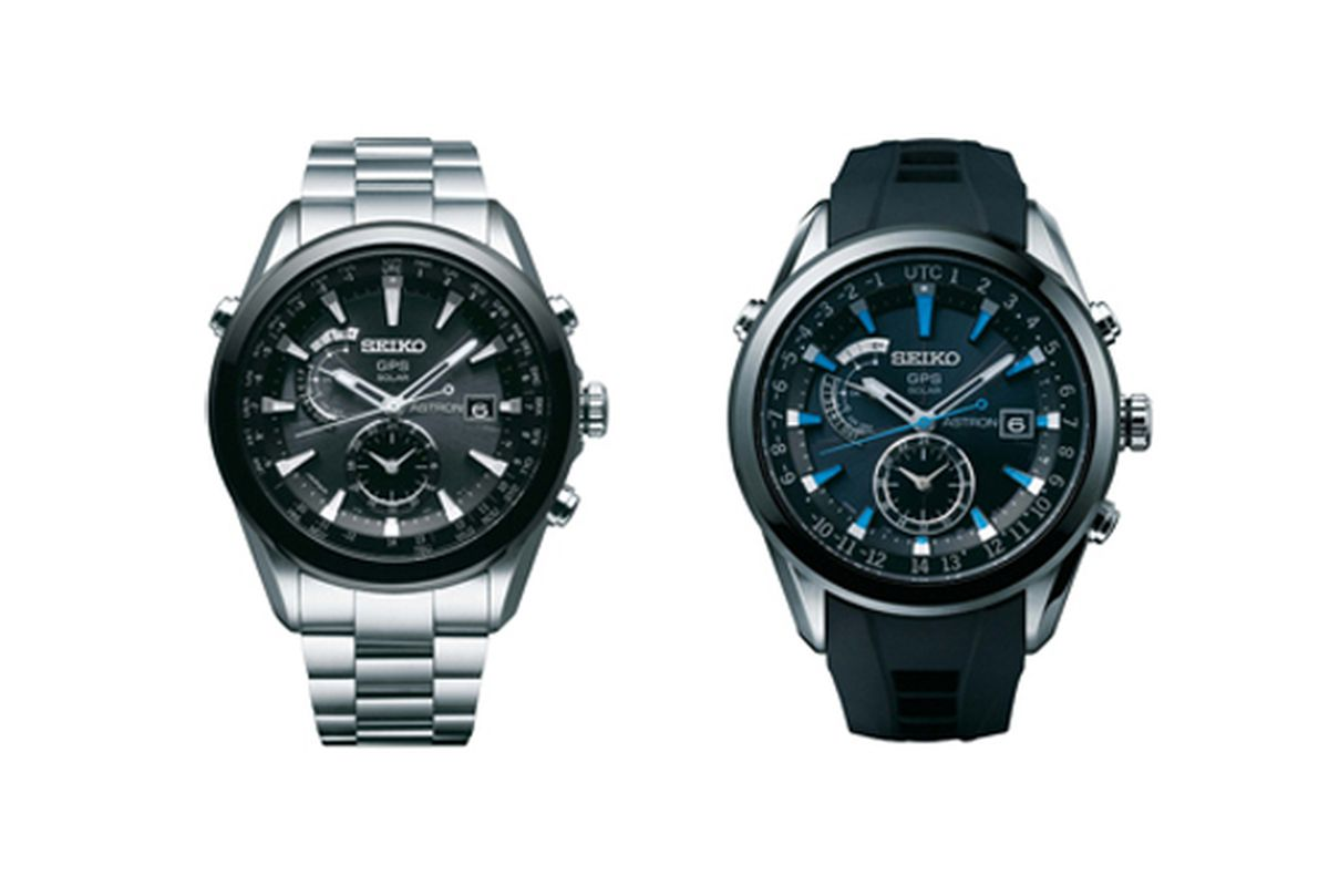 Seiko Watch With Built In Gps Will Change Timezones