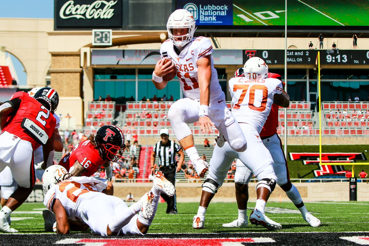 Texas v Texas Tech