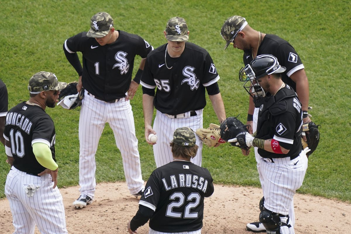 The White Sox are a story because they have one of the best records in the majors and are a sideshow they don't care to be because of manager Tony La Russa calling out one of his own players.