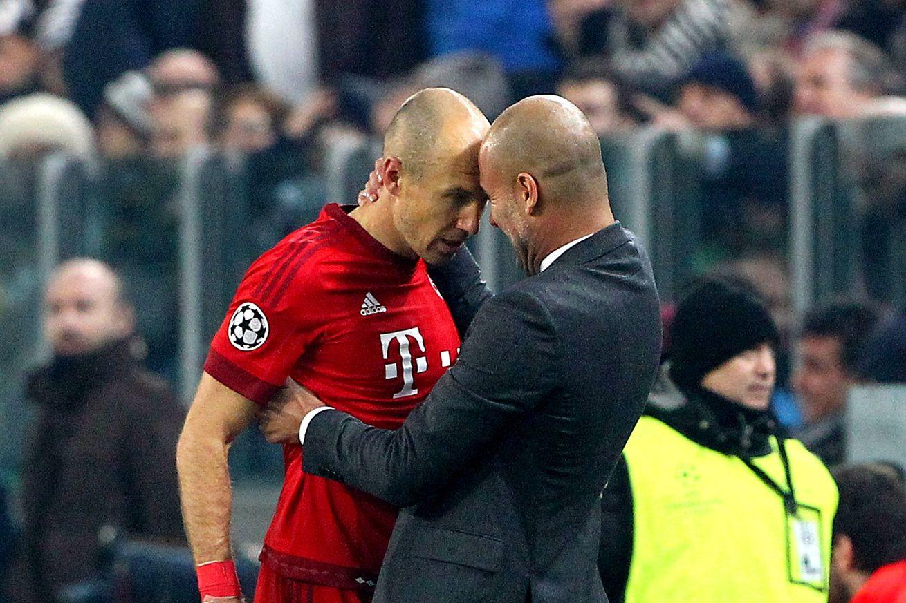 Arjen Robben: Pep Guardiola was my best coach at Bayern Munich
