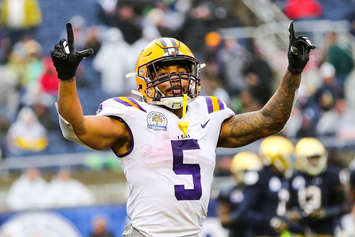 Skins Stats: The 100 Stat Salute to Derrius Guice - Hogs Haven
