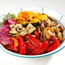 Grilled vegetables make a fantastic — and healthful — side dish.