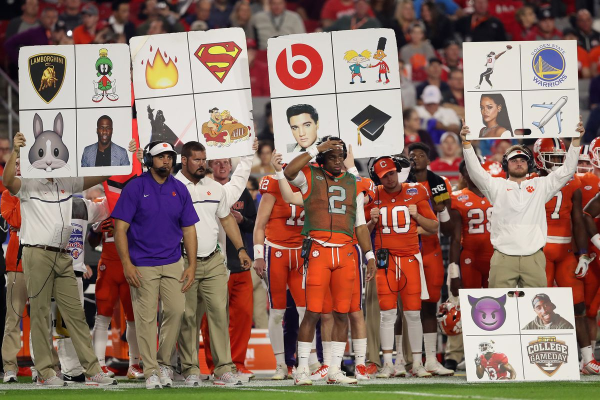 Image result for sideline play call poster