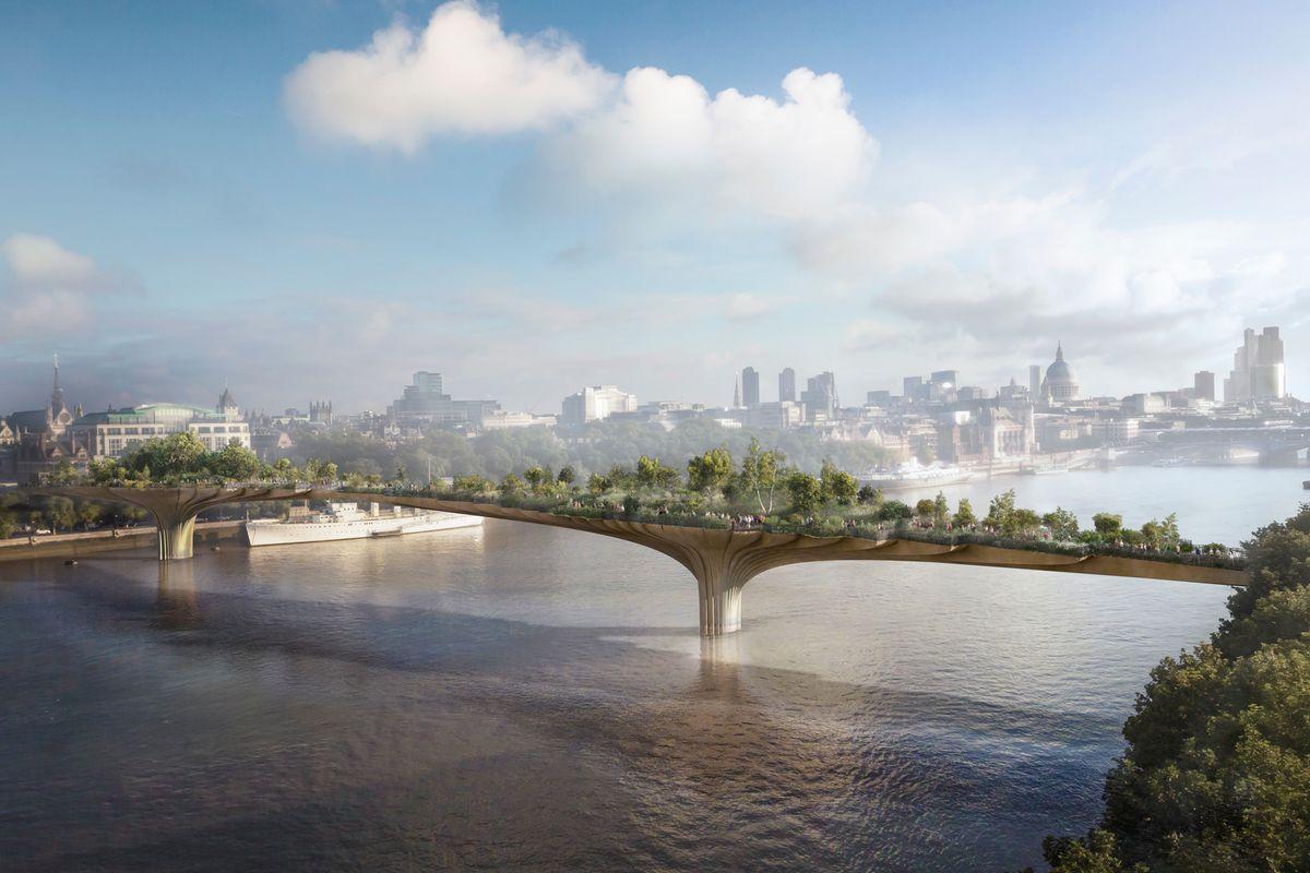 London's Garden Bridge proposal