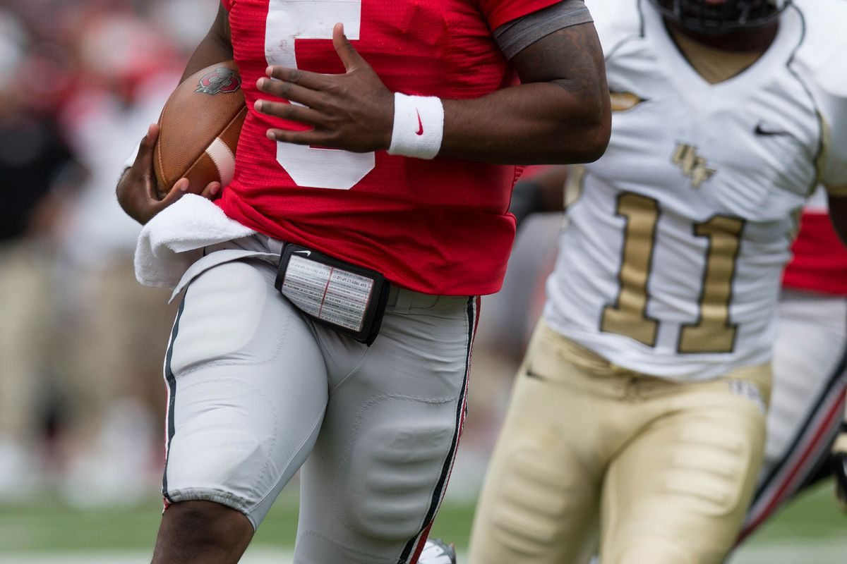 Braxton Miller set the tone for Ohio State yet again en route to a 31-16 victory over the UCF Knights.
