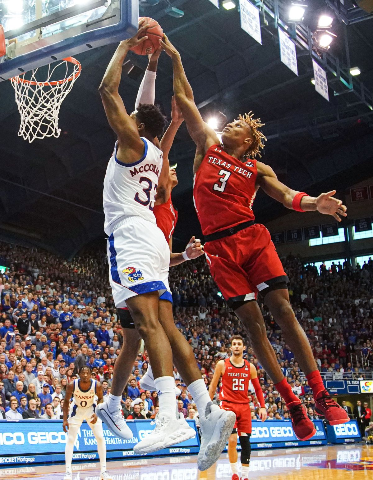 Kansas basketball vs. Texas Tech   KUsports.com
