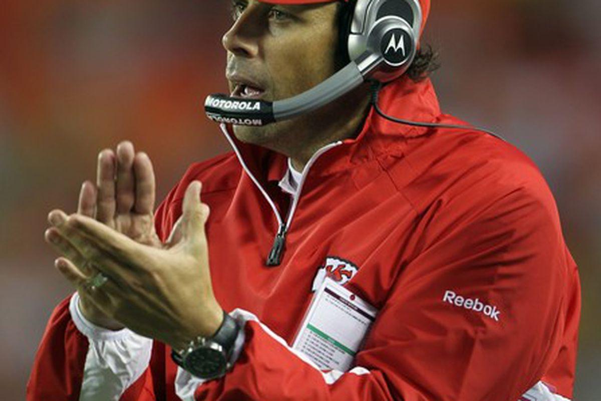 Kansas City Chiefs head coach Todd Haley