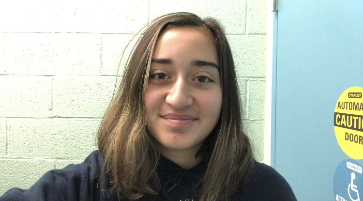 Daria Minhas, ninth grader at the School For Inquiry And Social Justice