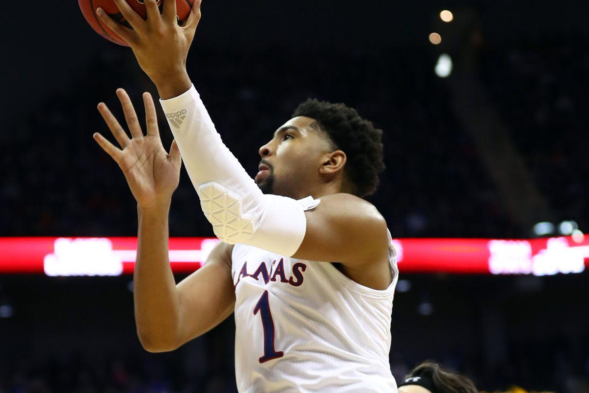 NCAA Basketball: New Mexico State at Kansas