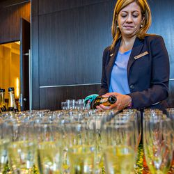 Sunday brunch wouldn't be complete without plenty of champagne.
