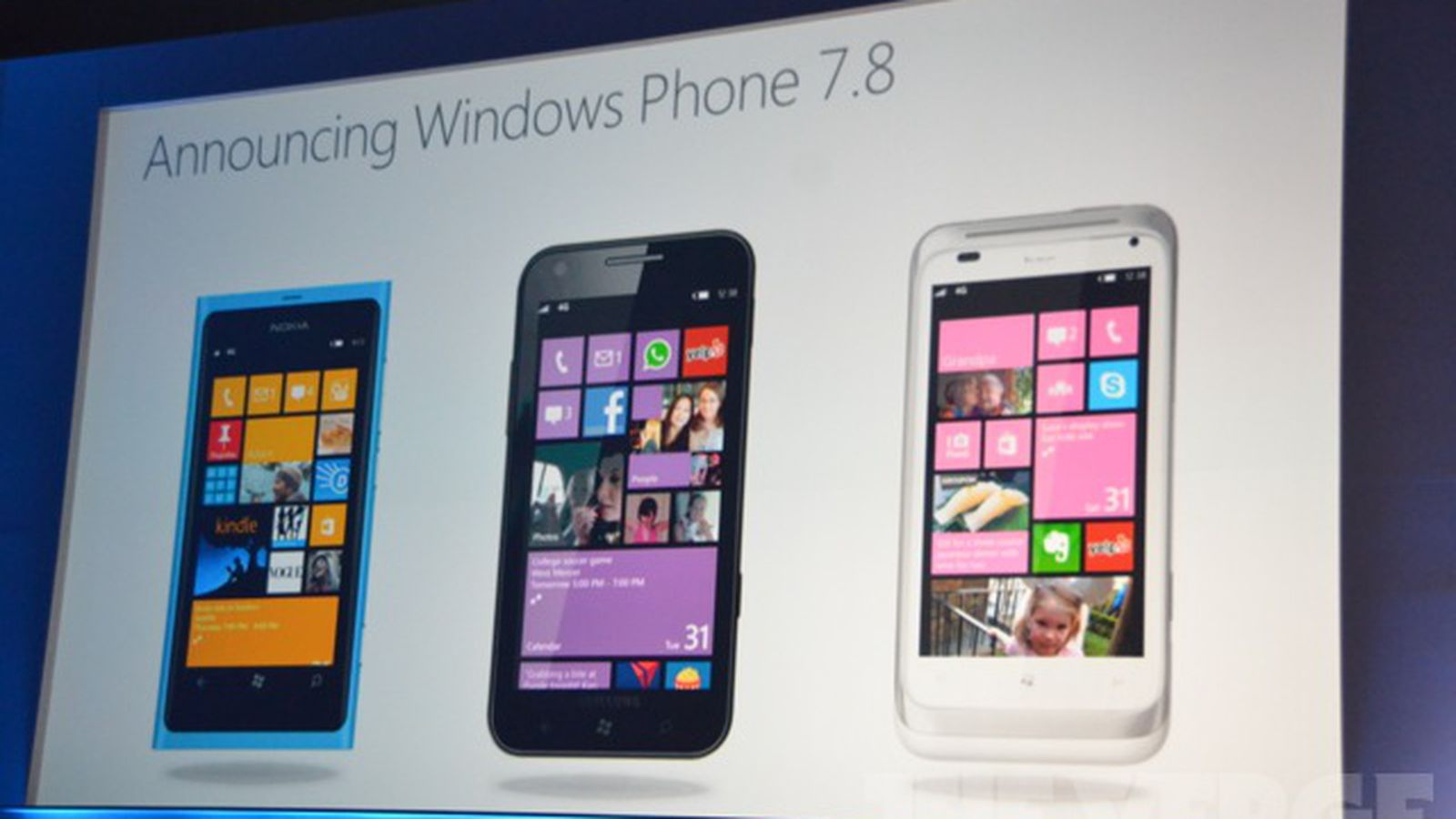 Nokia finally unveils not one but two windows phones the lumia 800 - Microsoft No Upgrades To Windows Phone 8 But Some Features Will Come In Windows Phone 7 8