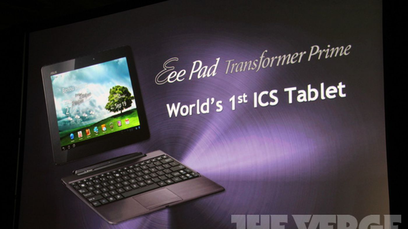 Android 40 Ics Will Be Available For Transformer Prime Today The
