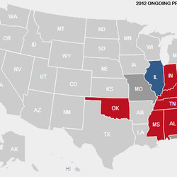 Presidential Election 2012 Vote Maps Gallery Cageside Seats