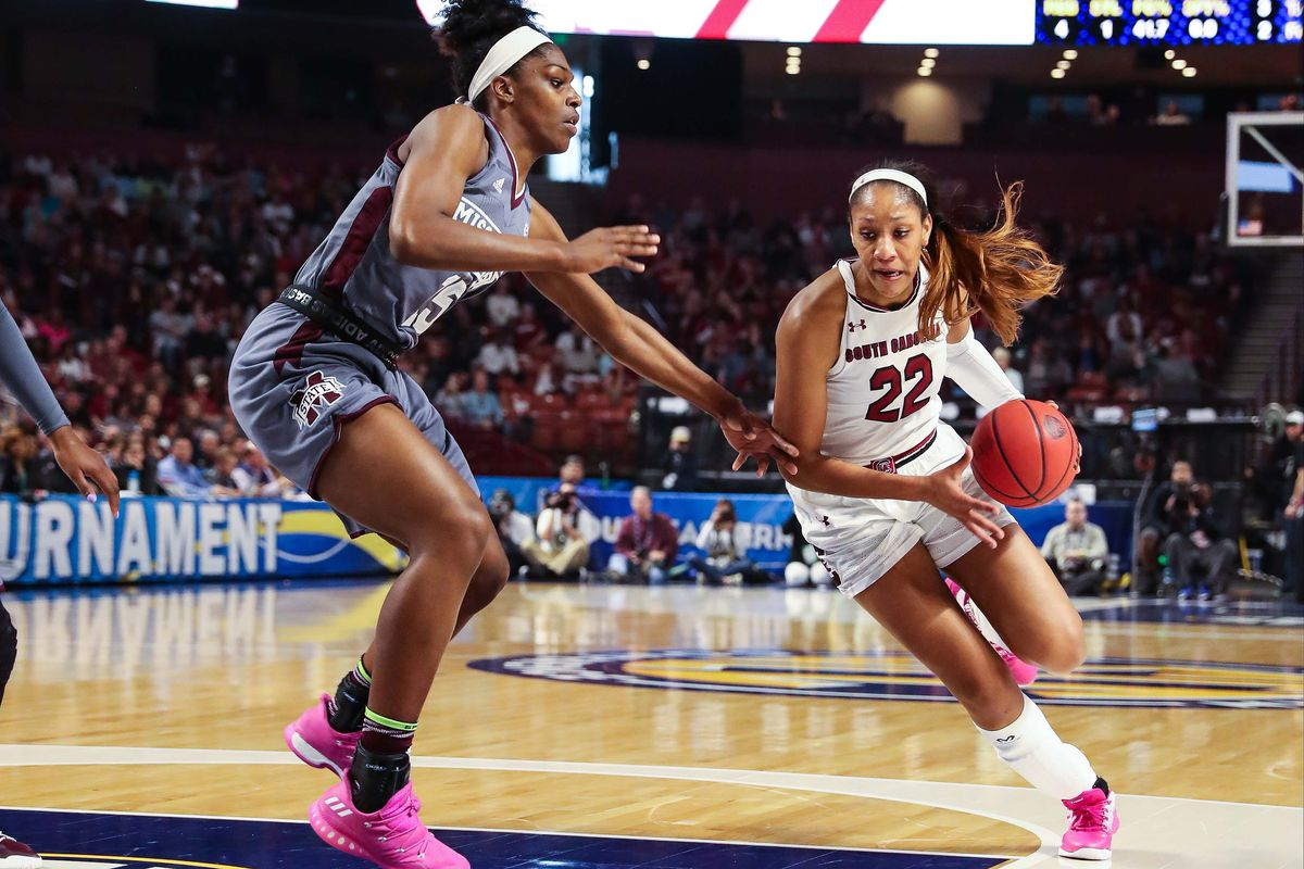 NCAA Womens Basketball: SEC Conference Tournament-South Carolina vs Mississippi State