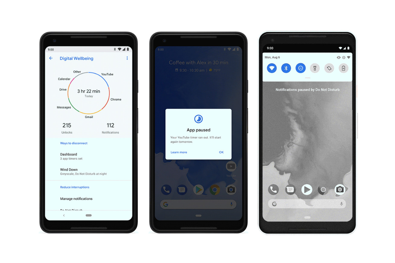 how to test out google s digital wellbeing features on android 9 pie right now