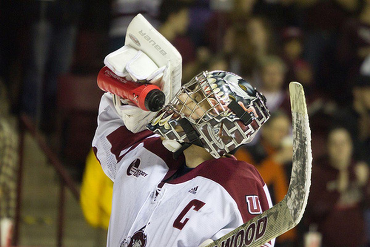 """UMass fans are probably going to need a drink after this weekend. (via <a href=""""http://www.flickr.com/photos/brainpa/5478843419/"""">Dennis Pause</a>)"""