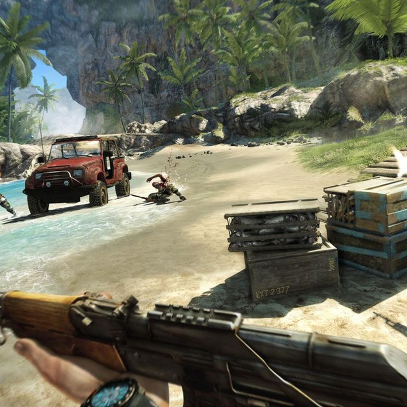 Far Cry 3 Getting Ps3 Exclusive Co Op Dlc In January Polygon