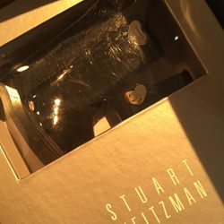 Baby's first Stuart Weitzmans, $5 (from $40)