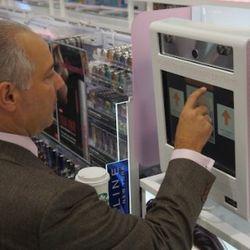 A Walgreens Exec Shows How to Use the Virtual Makeover Kiosk