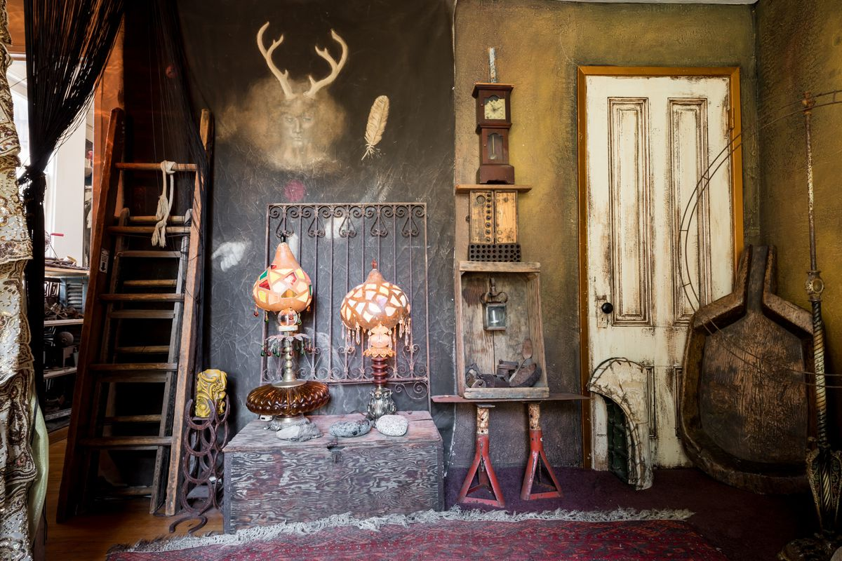 Inside An Artists Maximalist Castro Apartment - Curbed Sf-5156