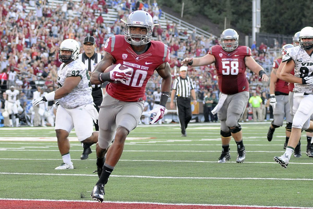 Washington State wide receiver Dom Williams and his teammates bring the Air Raid to Rice-Eccles Stadium Saturday.