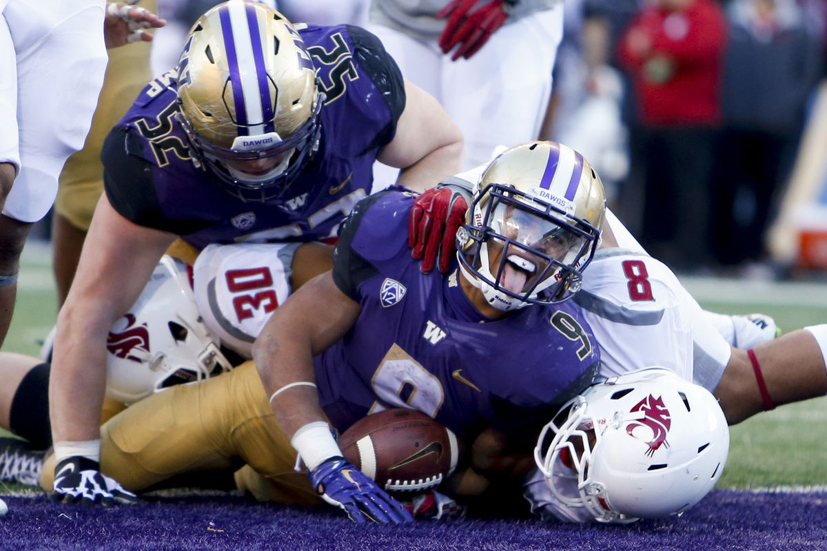 Myles Gaskin is stoked for his first bowl game as a Husky