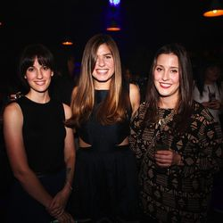 Racked Philly editor Julie Davis, Racked National associate editor Kenzie Bryant, and Racked Boston editor Susie Kostaras