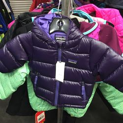 Patagonia girls' down jacket, $63.96 (from $129)
