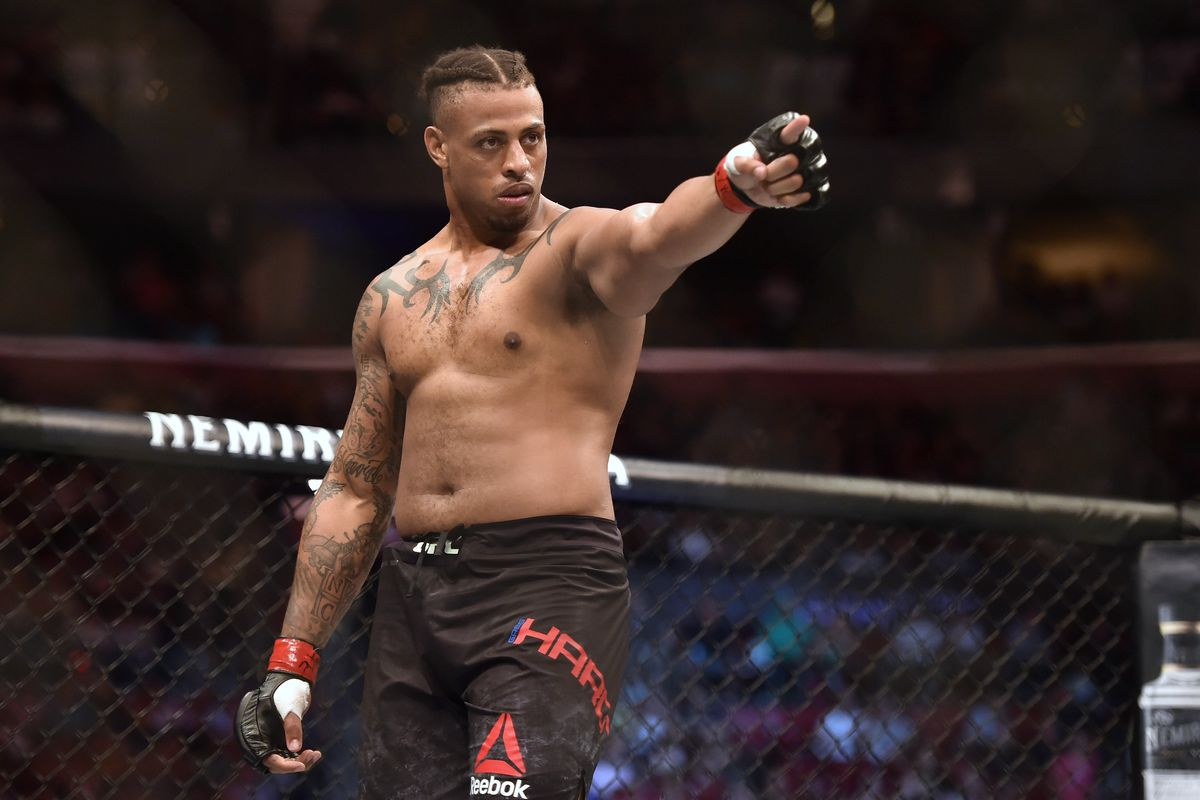 UFC on ESPN 4 results: Greg Hardy punches out Juan Adams in just 45 seconds