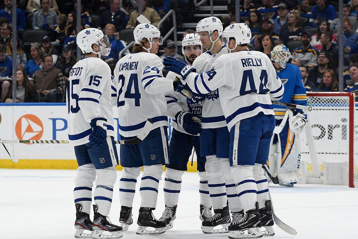 Recap: Leafs special teams get a decisive win over the Blues