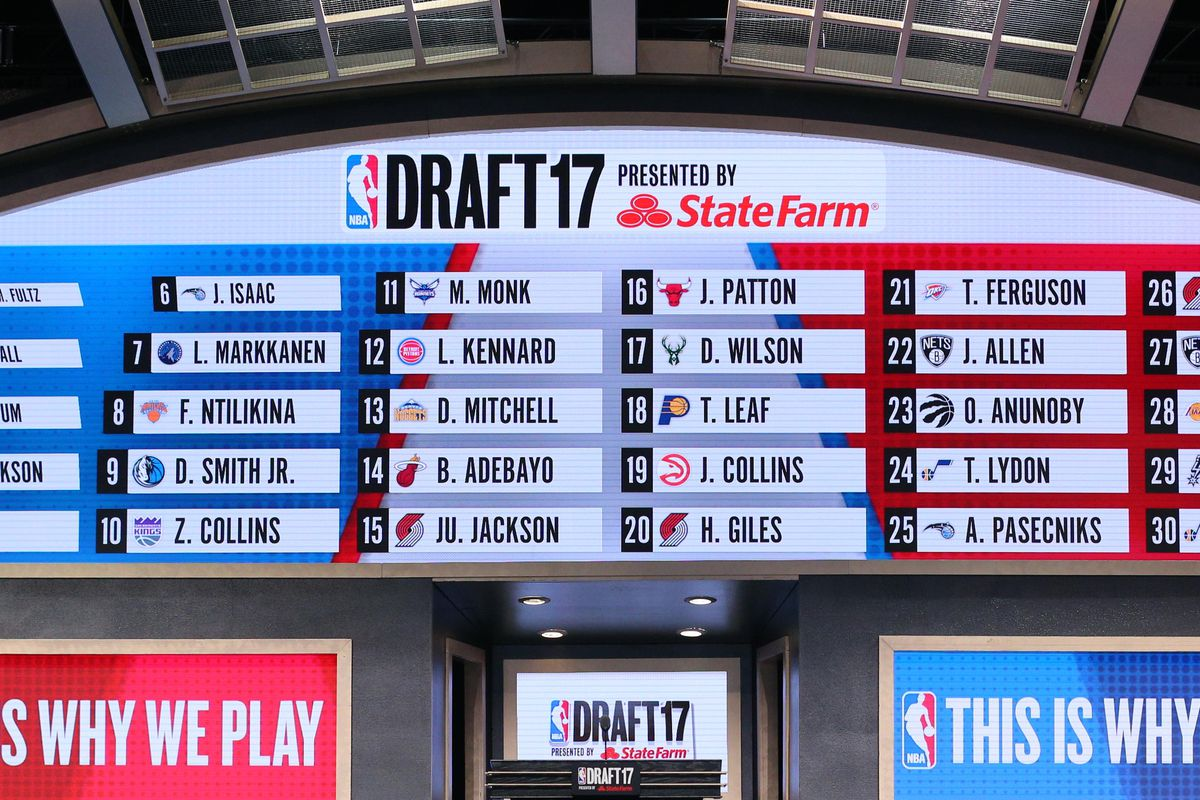 the spurs will 18th in the 2018 nba draft pounding