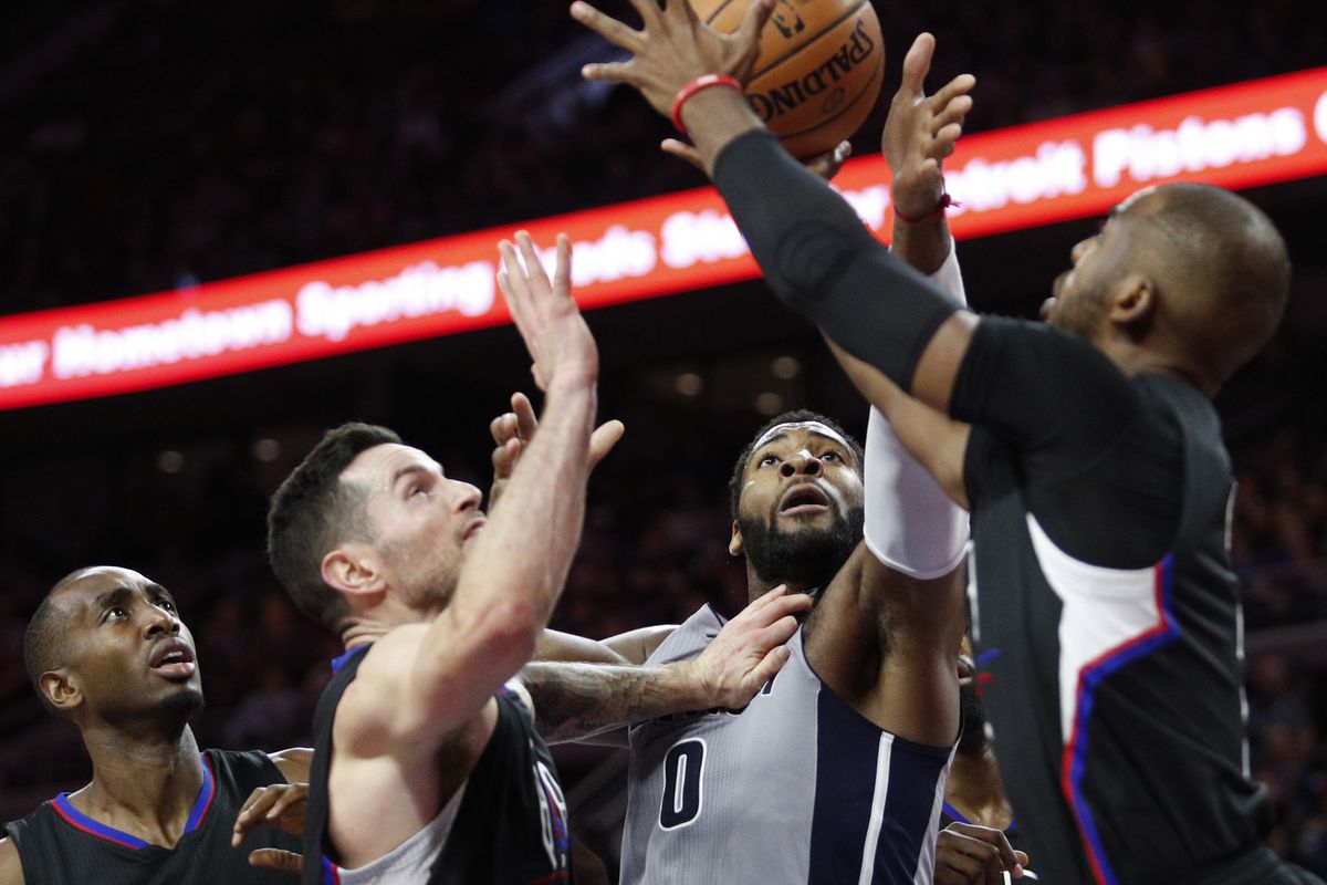 NBA: Los Angeles Clippers at Detroit Pistons