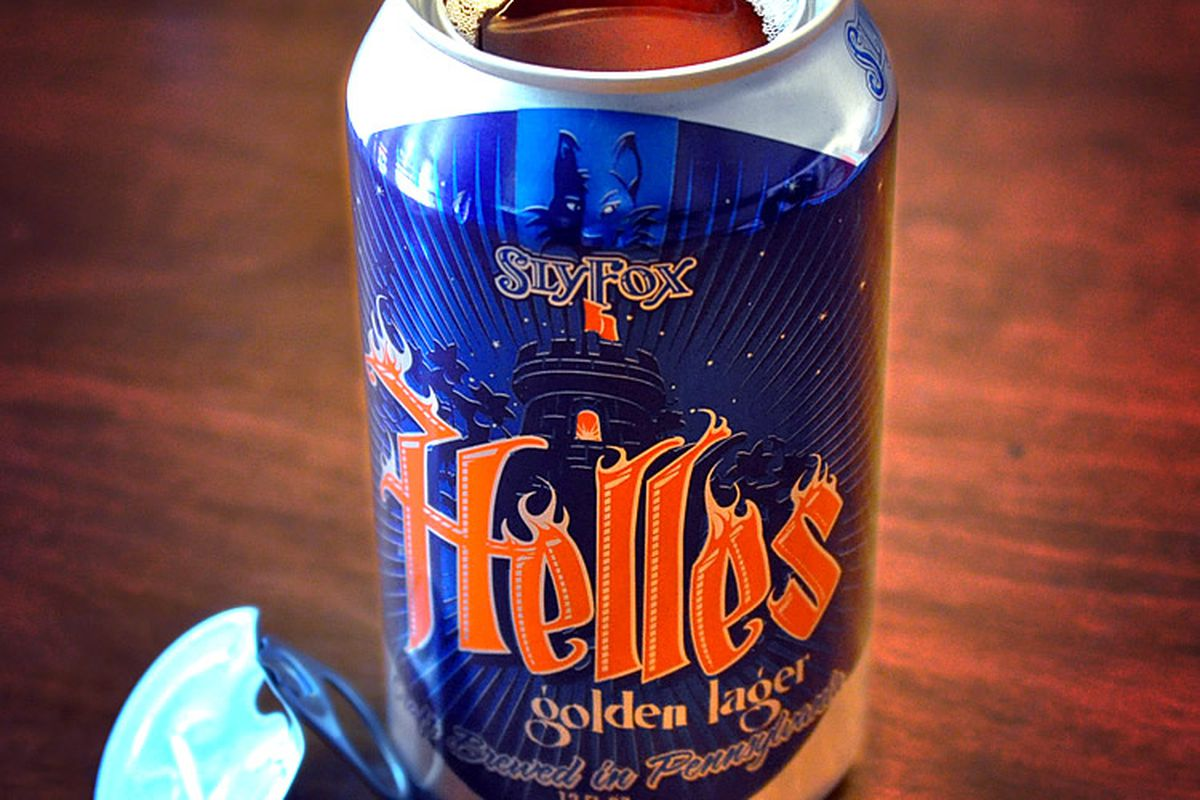 Sly Fox's new can is getting lots of attention.