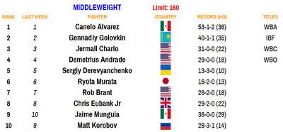 160 110220 - Bad Left Hook Boxing Rankings (Nov. 2, 2020): Davis joins Canelo as only fighters ranked in two divisions