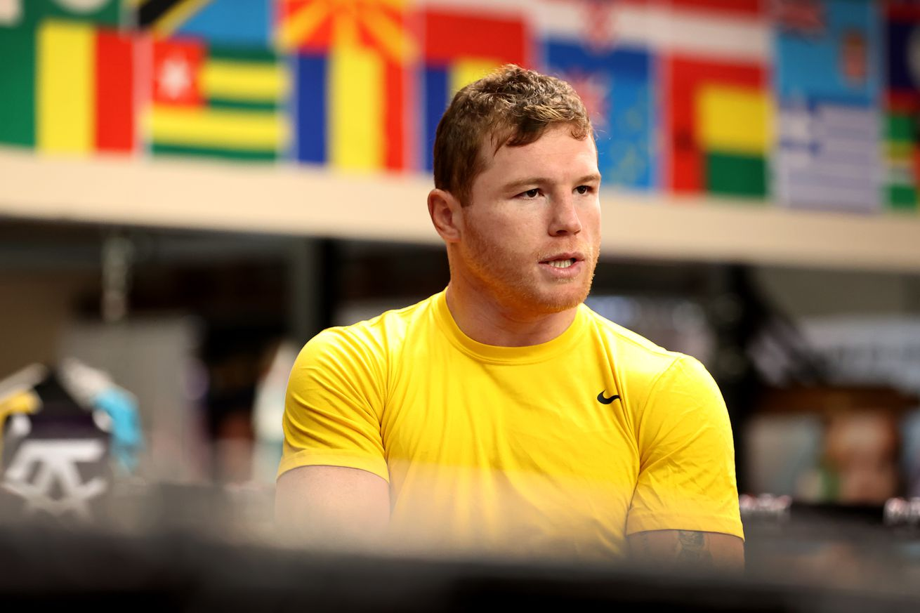 Canelo Alvarez Training Session