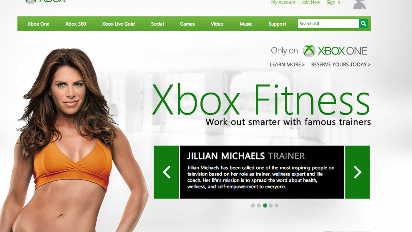Microsoft officially reveals Xbox One personal fitness app
