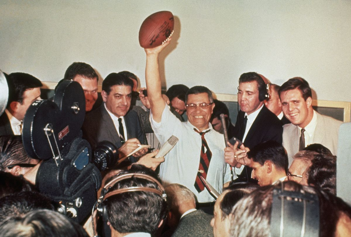 Coach Lombardi After Super Bowl Victory
