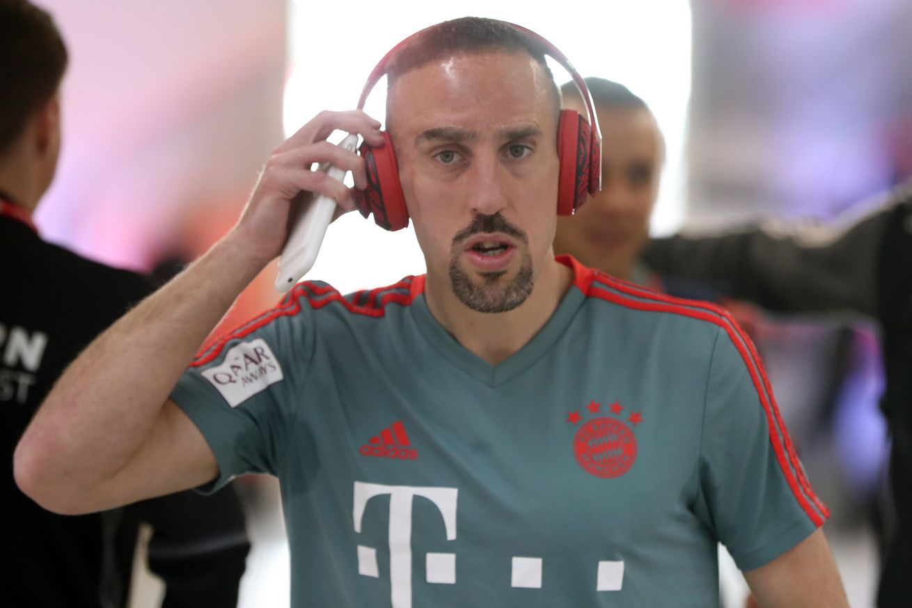Bayern Munich?s Franck Ribery is considering a future in Qatar
