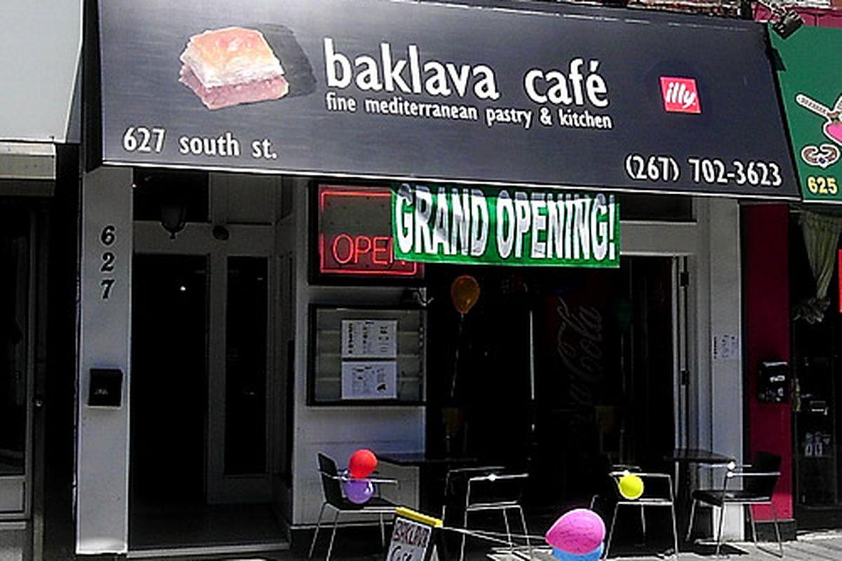 Baklava Cafe is now open