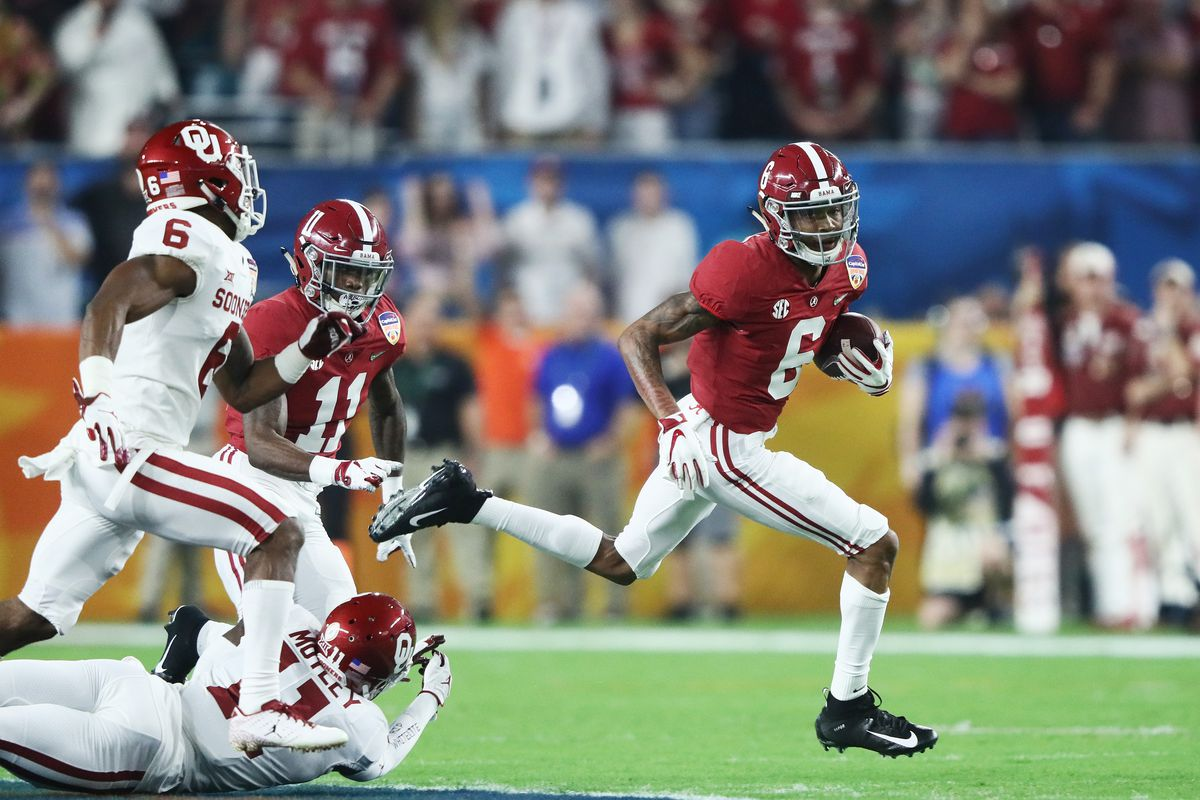 Alabama Vs Oklahoma Second Half Open Thread Roll Bama Roll