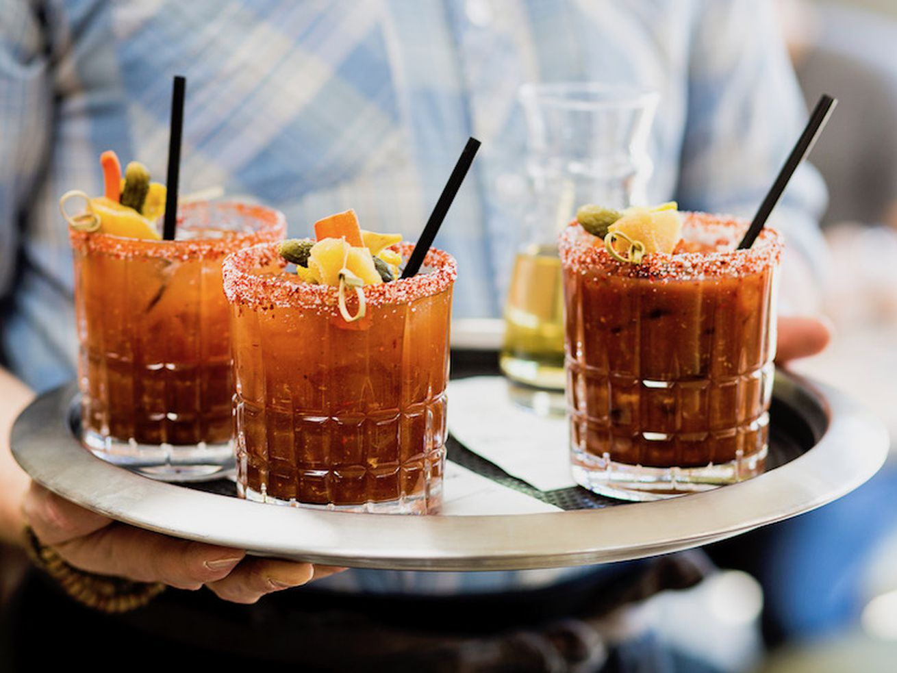 Momed's spicy Bloody Marys